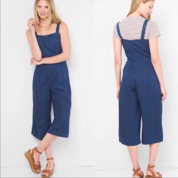3f85972c822 GAP Pants - GAP Tencel Denim Jumpsuit